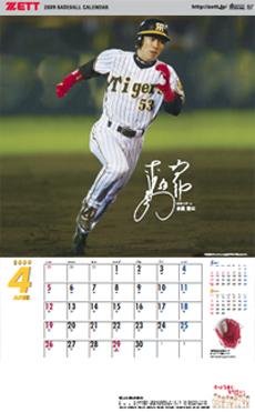 4月 阪神 赤星憲広選手