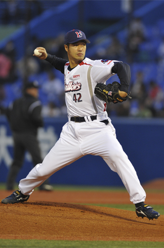 2156高橋尚成選手(読売ジャイアンツ)が通算1000奪三振を達成!