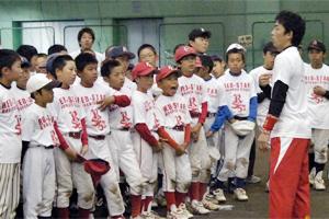赤星講師の走塁指導