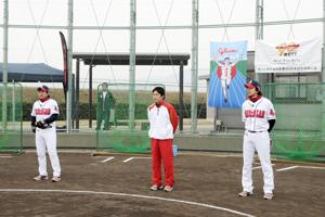 創業90周年記念事業 『レッドスター ベースボールクリニック(東京会場)』レポート。
